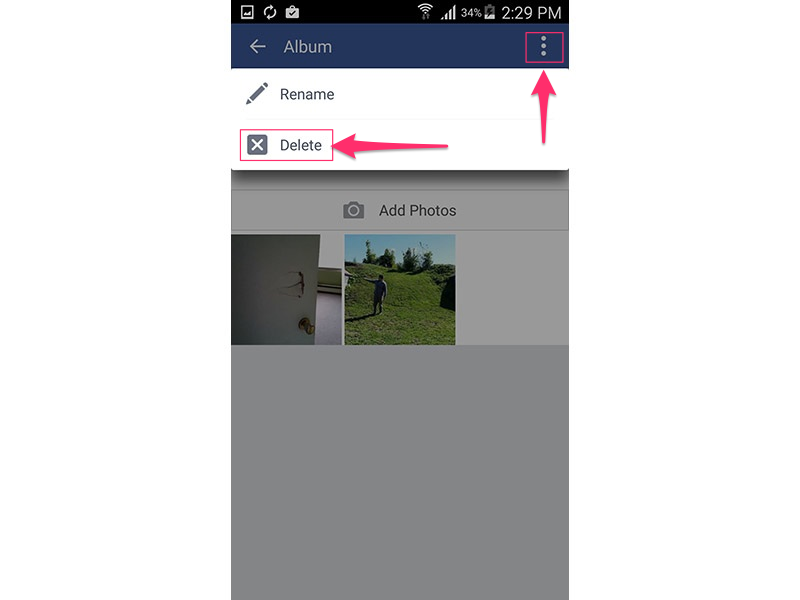 Facebook (Android 5.0)