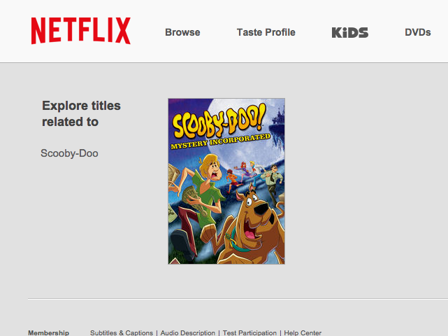 how to title search on netflix