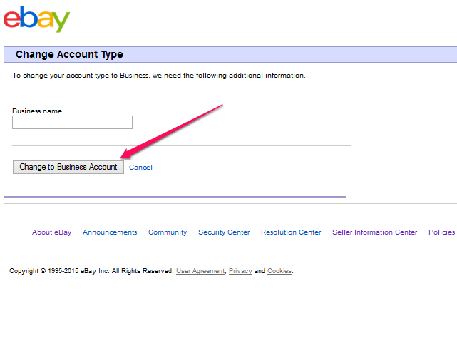 how to make an ebay account to sell items