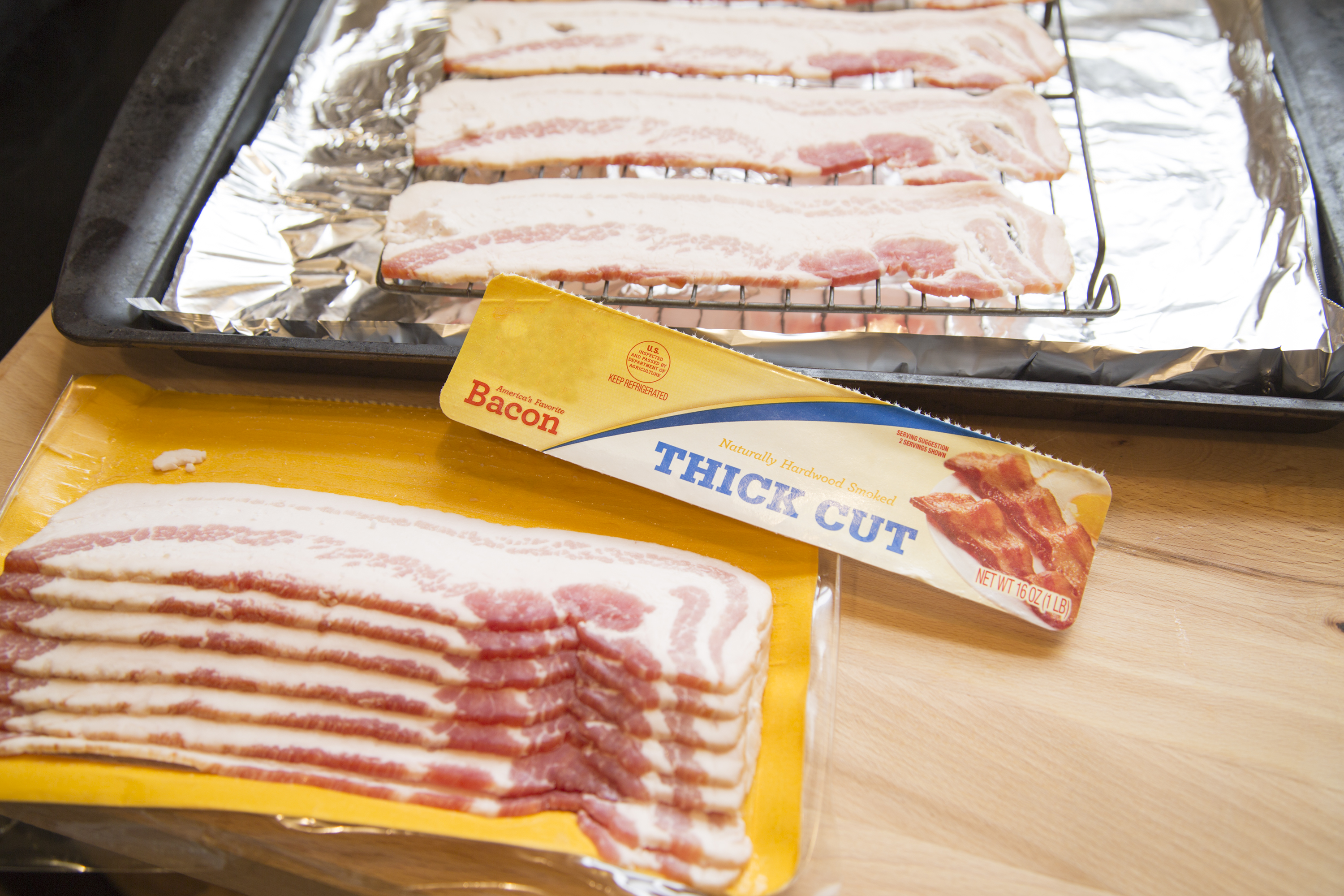How to cook thick cut bacon livestrong ccuart Gallery