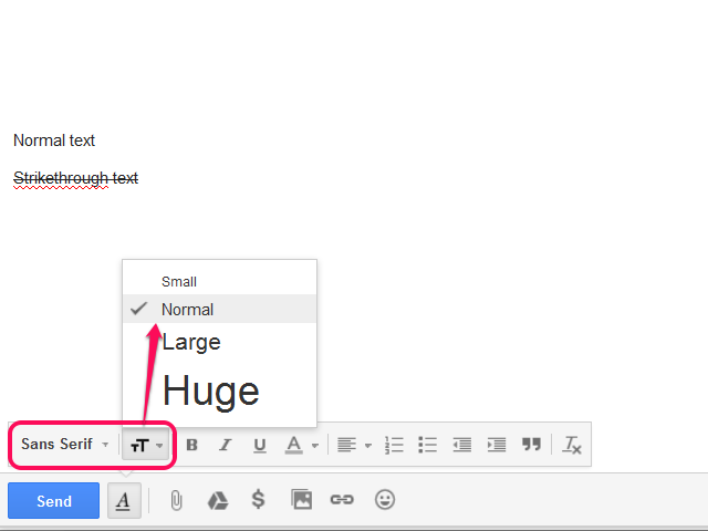 how to make strikethrough text in word
