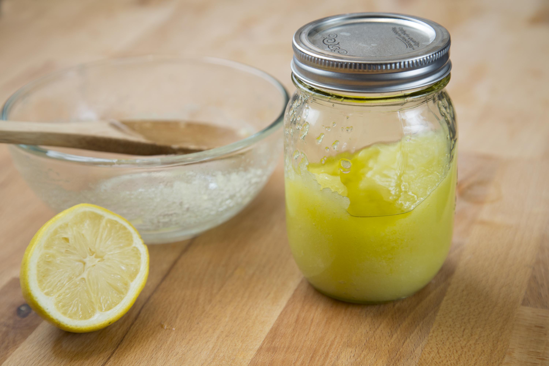 Как сделать лимонное масло в домашних условиях