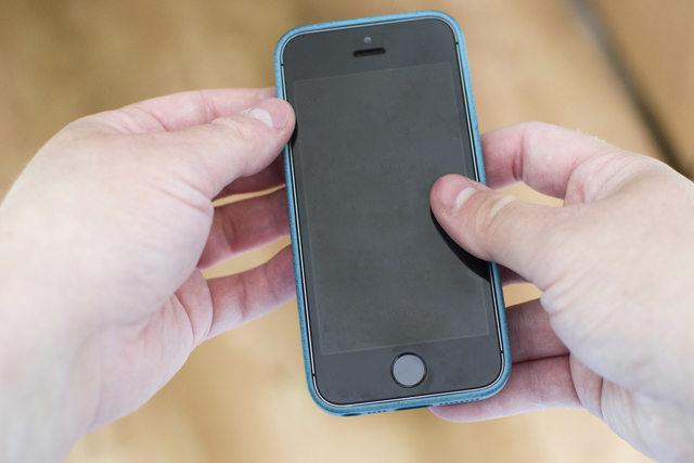 iPhone screen goes black