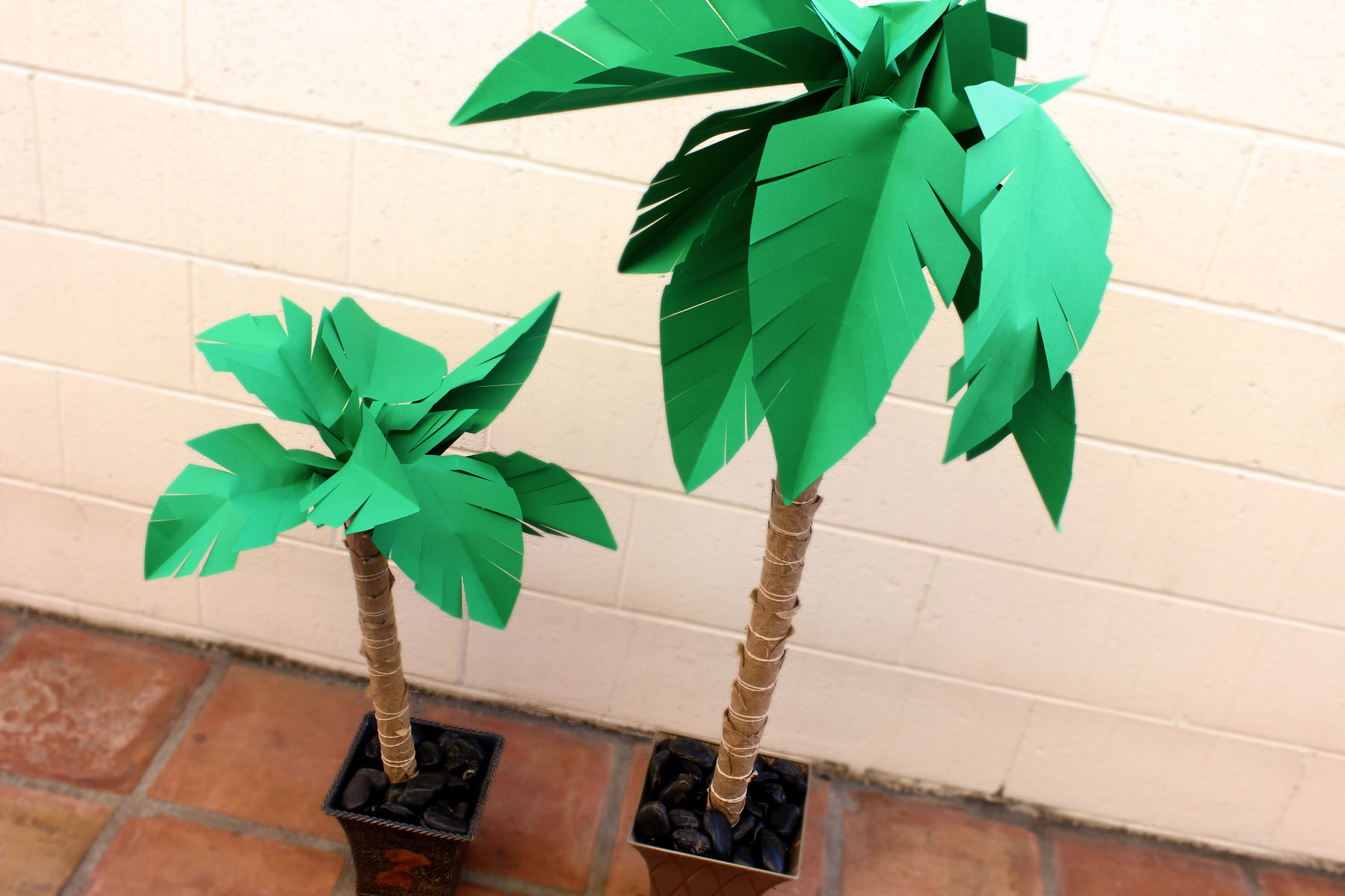 How To Make A Paper Palm Tree Ehow