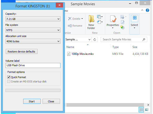 bHow to Copy a Movie to a Flash Drive