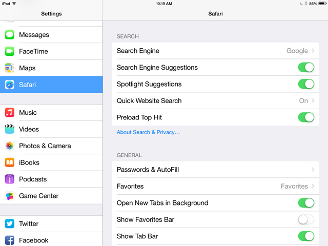How To Use Safari On An Apple IPad