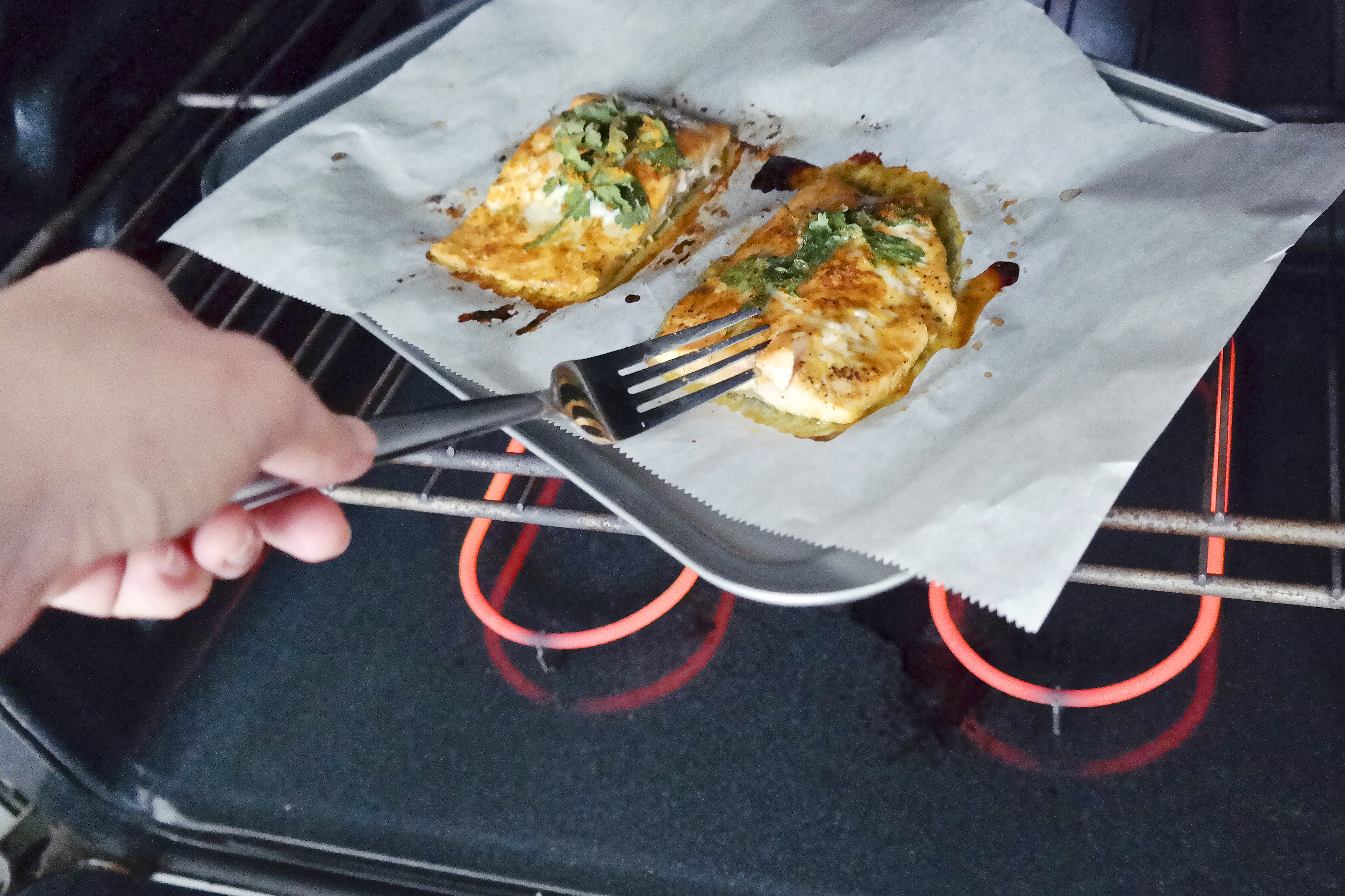 How To Cook Prepared Stuffed Salmon In The Oven