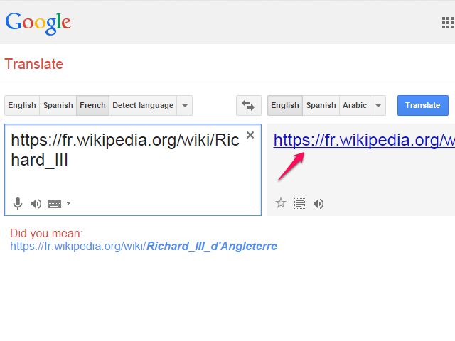 Translate an entire website.