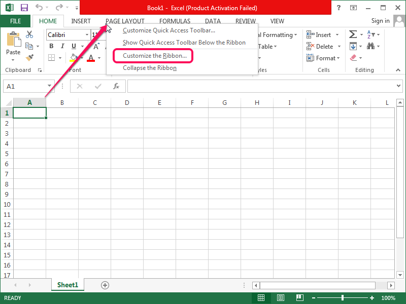 Calendar Design Excel : How to create a drop down calendar in excel techwalla