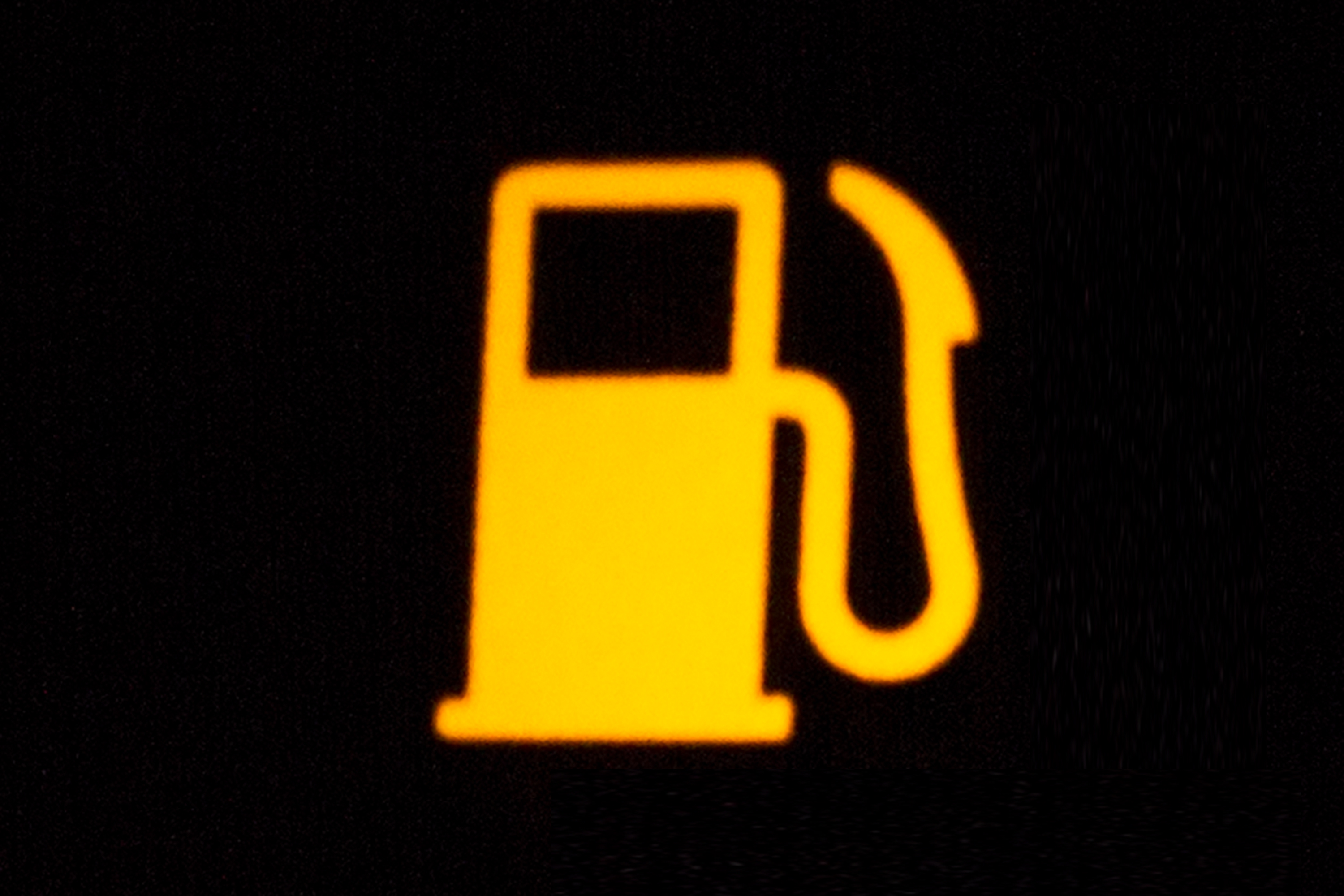 The meanings of the symbols on a car dashboard it still works this symbol a picture of a gas pump indicates that your gas level is low usually this light comes on when you have enough gas left to allow you to drive buycottarizona Choice Image