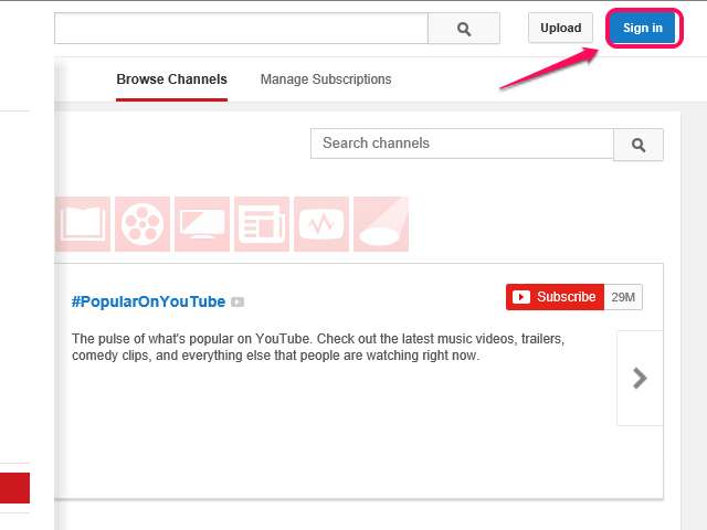 bHow to Create a YouTube Account