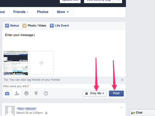 bHow to Add Photos on Facebook