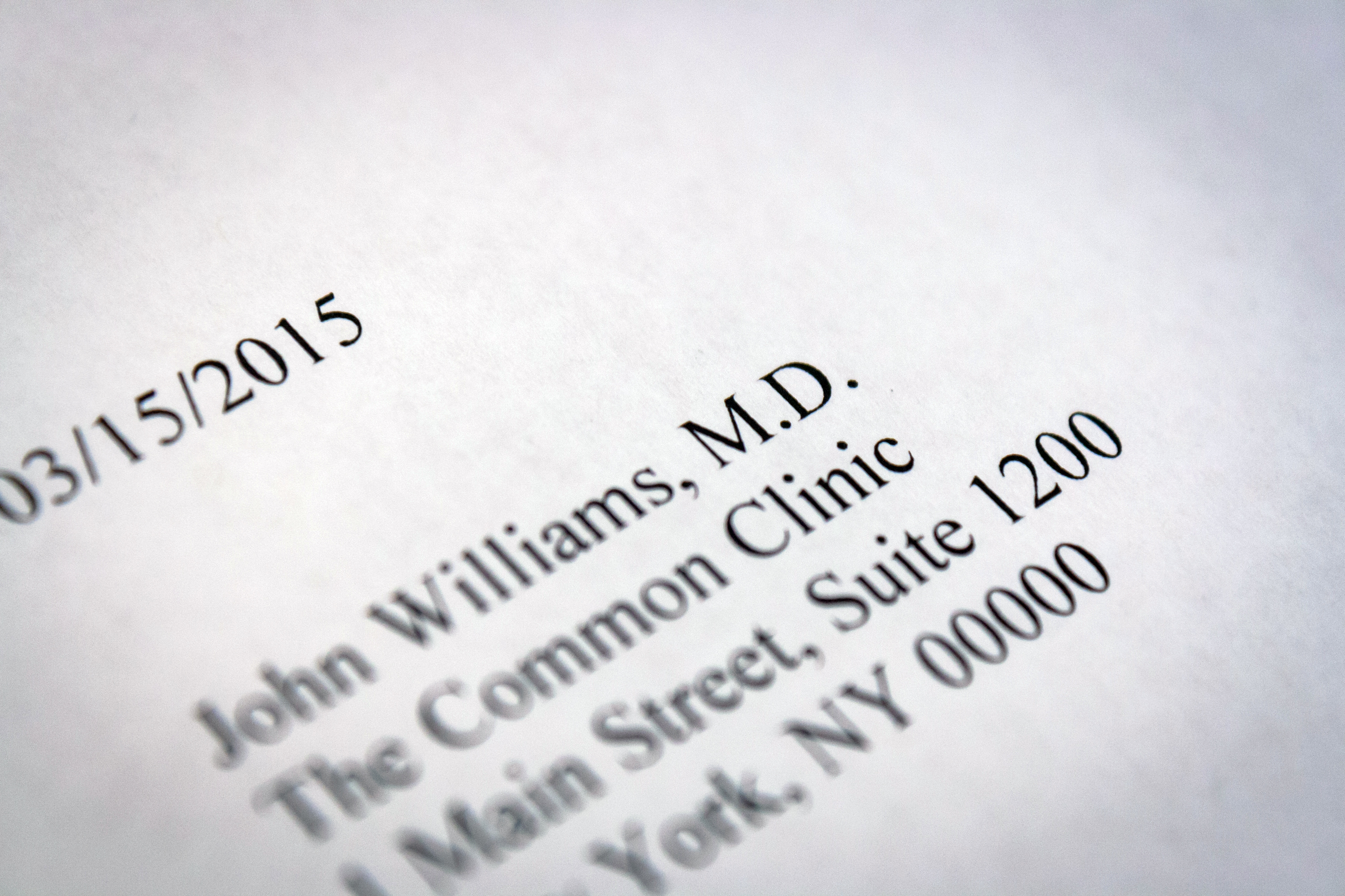 how to address a letter to a doctor our everyday life for example if your doctor s is stephen williams your first line should stephen williams md note that it s redundant to include