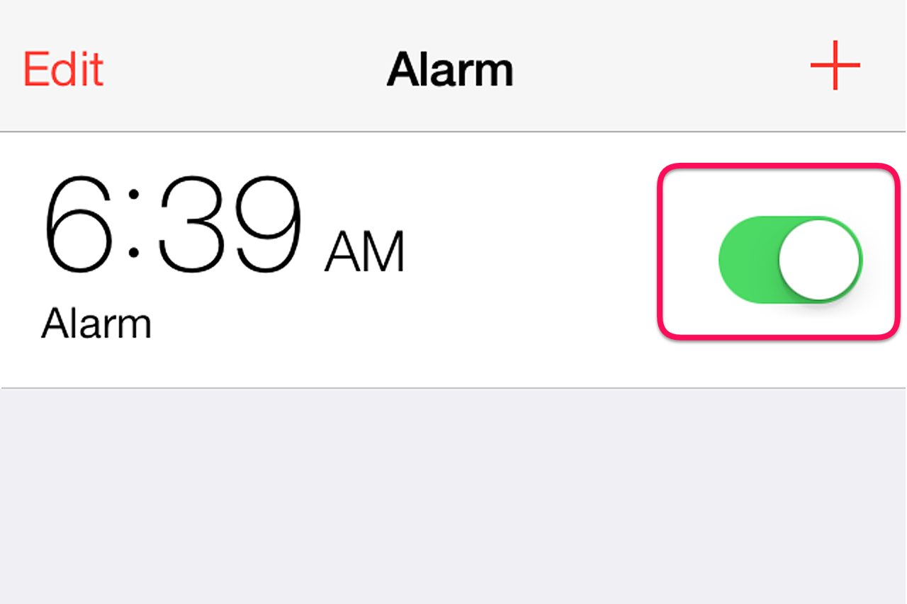how to make an alarm tone for the iphone