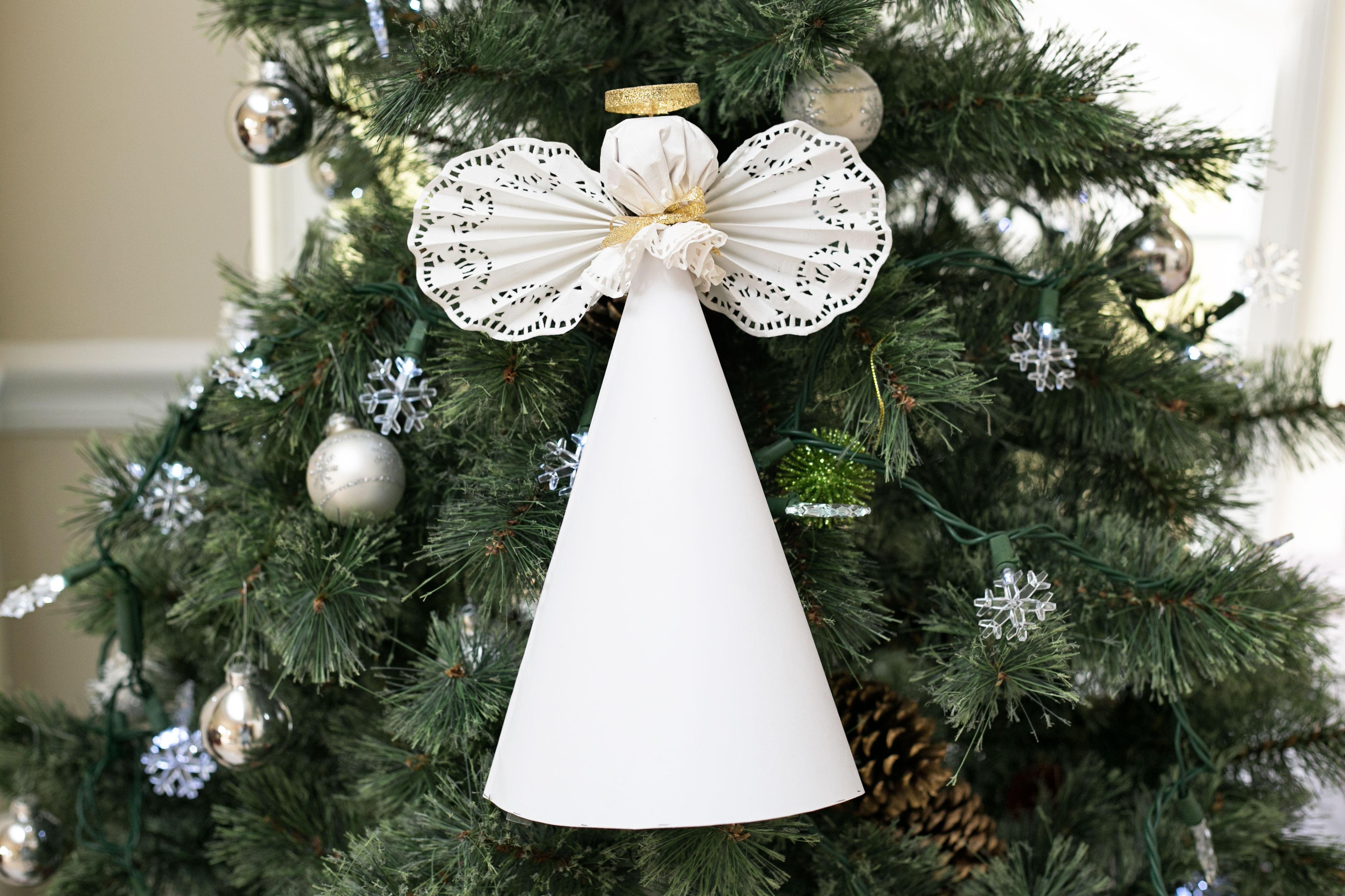 Lazos para el arbol de navidad adornos navideos caseros - Lazos para el arbol de navidad ...