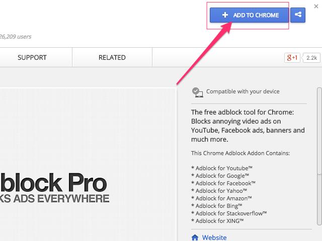 Chrome Web Store (Chrome)