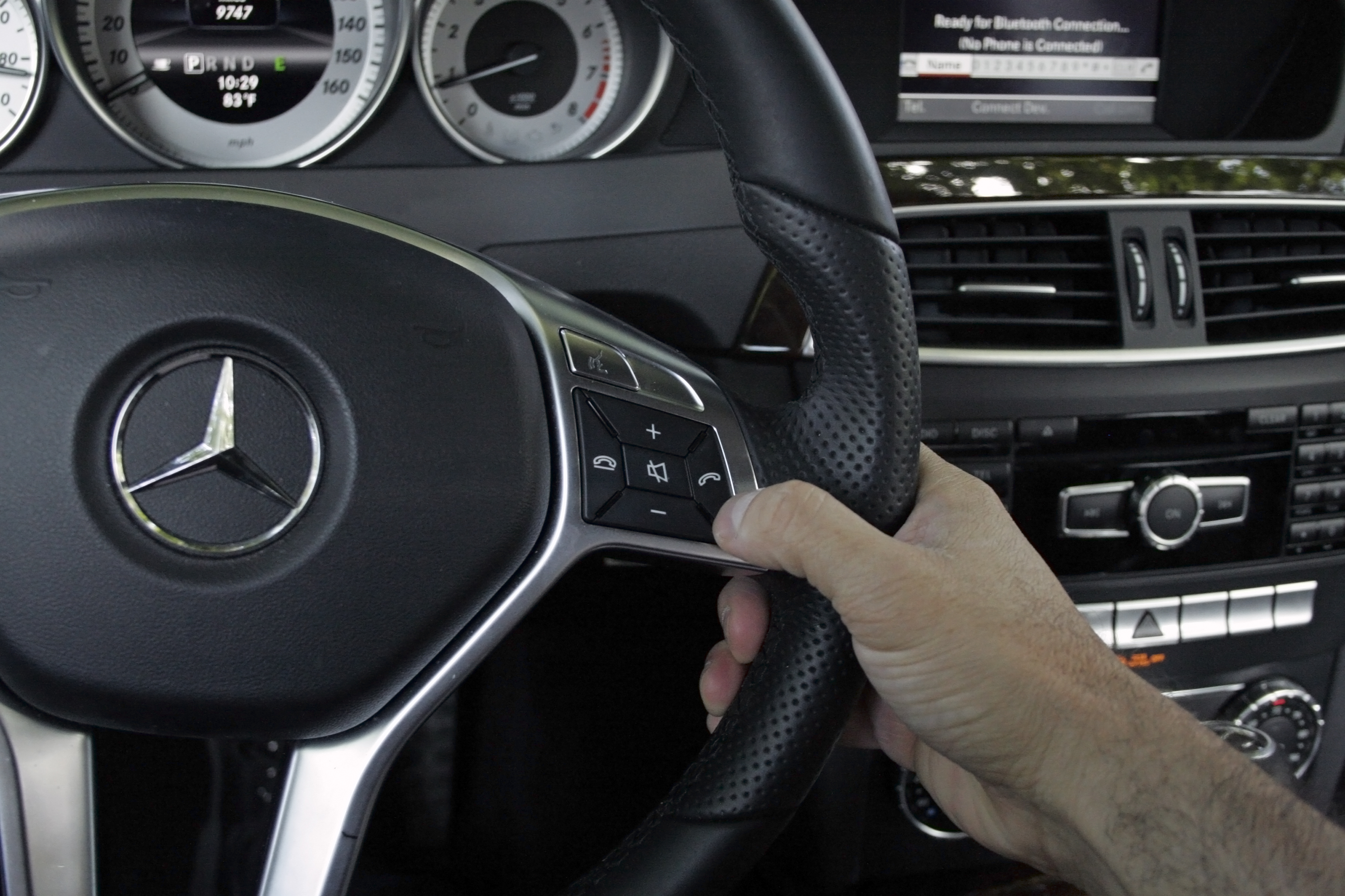 how to connect to an outbuilt bluetooth in a car