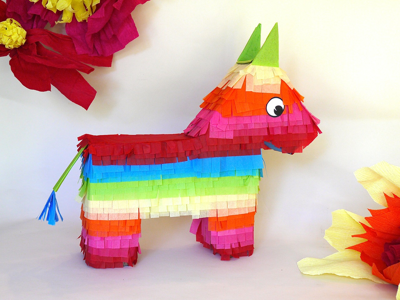 graphic relating to Donkey Pinata Template Printable called How in the direction of Create a Donkey Pinata eHow