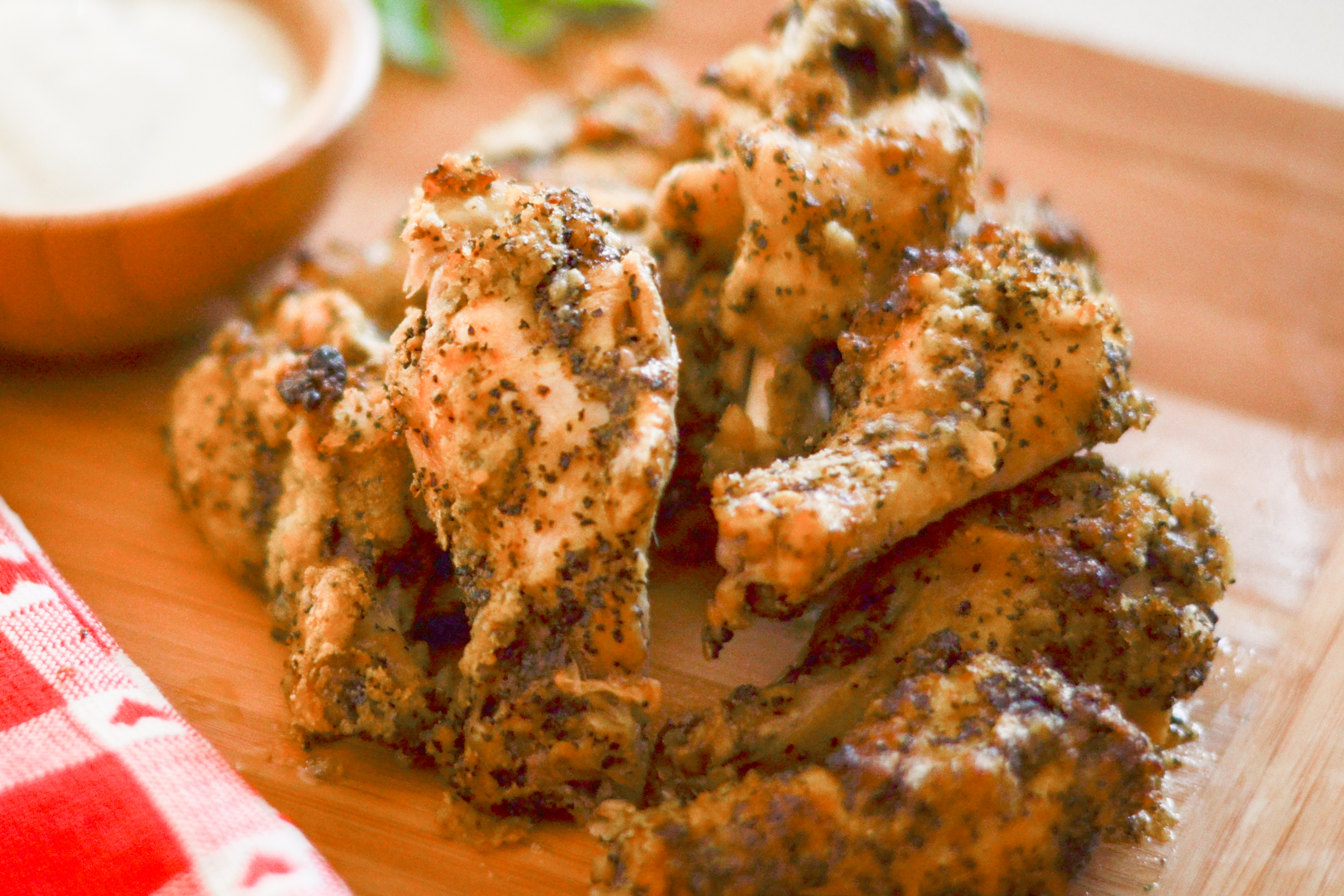 How to easily bake lemon pepper wings livestrong forumfinder Choice Image