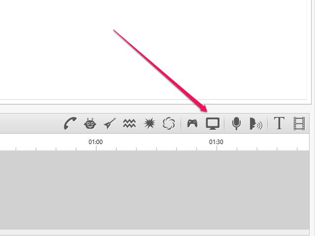 Click the Capture Screen icon.