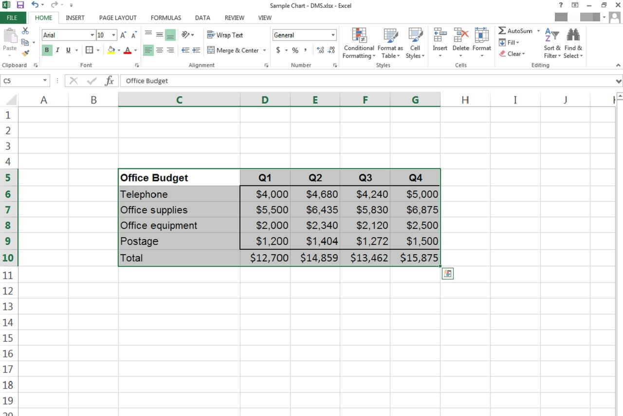 How to Create a Bar Graph in an Excel Spreadsheet | It Still Works ...