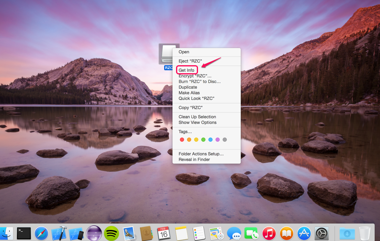 how to use a flash drive on mac