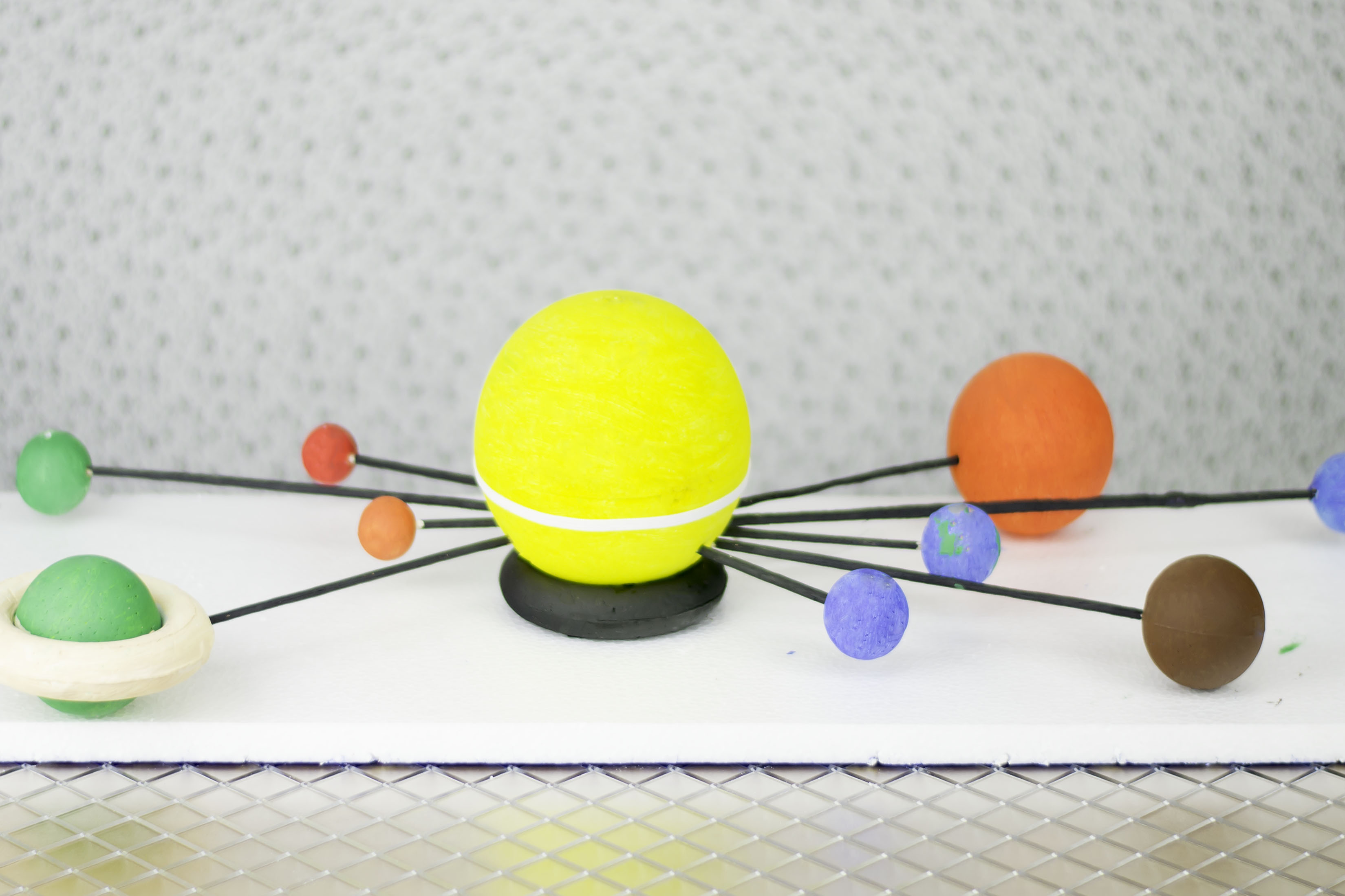 How To Make A Solar System Model At Home For School Project