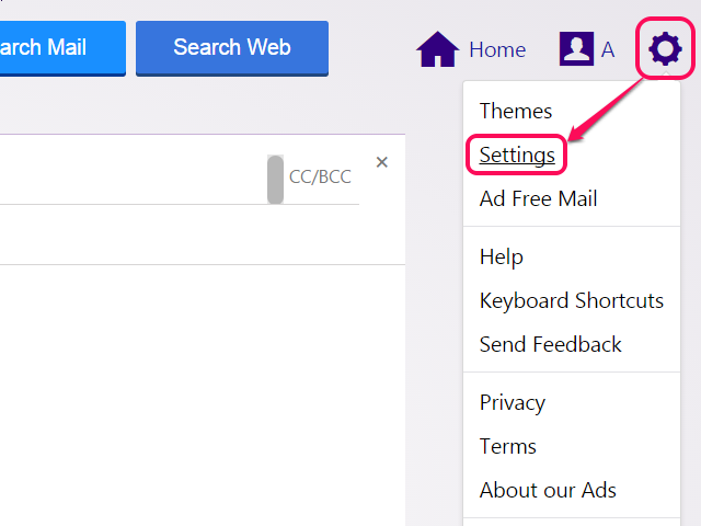 bHow to Use Yahoo Mail Options