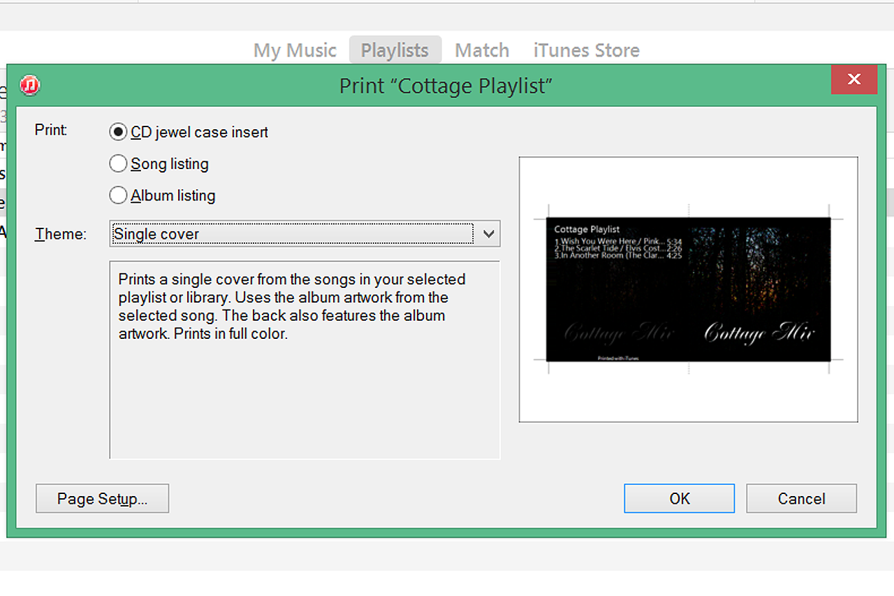 how to make a cd from itunes