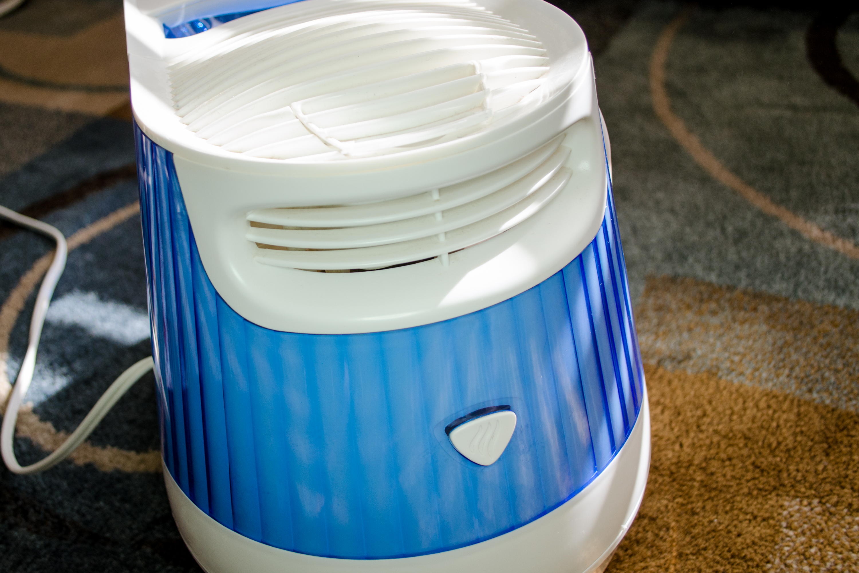 Use a humidifier in your home if your skin dries out in winter. Dry  #0B3D7D