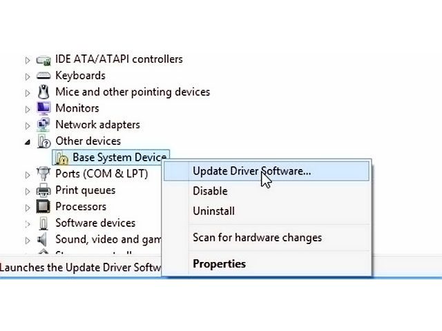 Device drivers are unique to a combination of OS versions and hardware model.