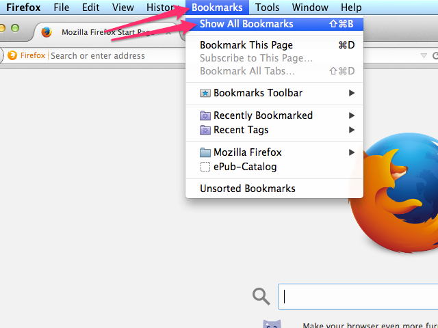 how to delete bookmarks on macbook chrome