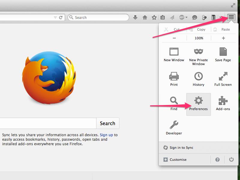 Firefox 37 (Mozilla)
