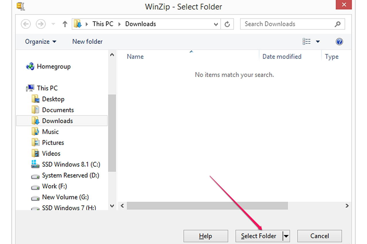 how to download a zip file on windows 7