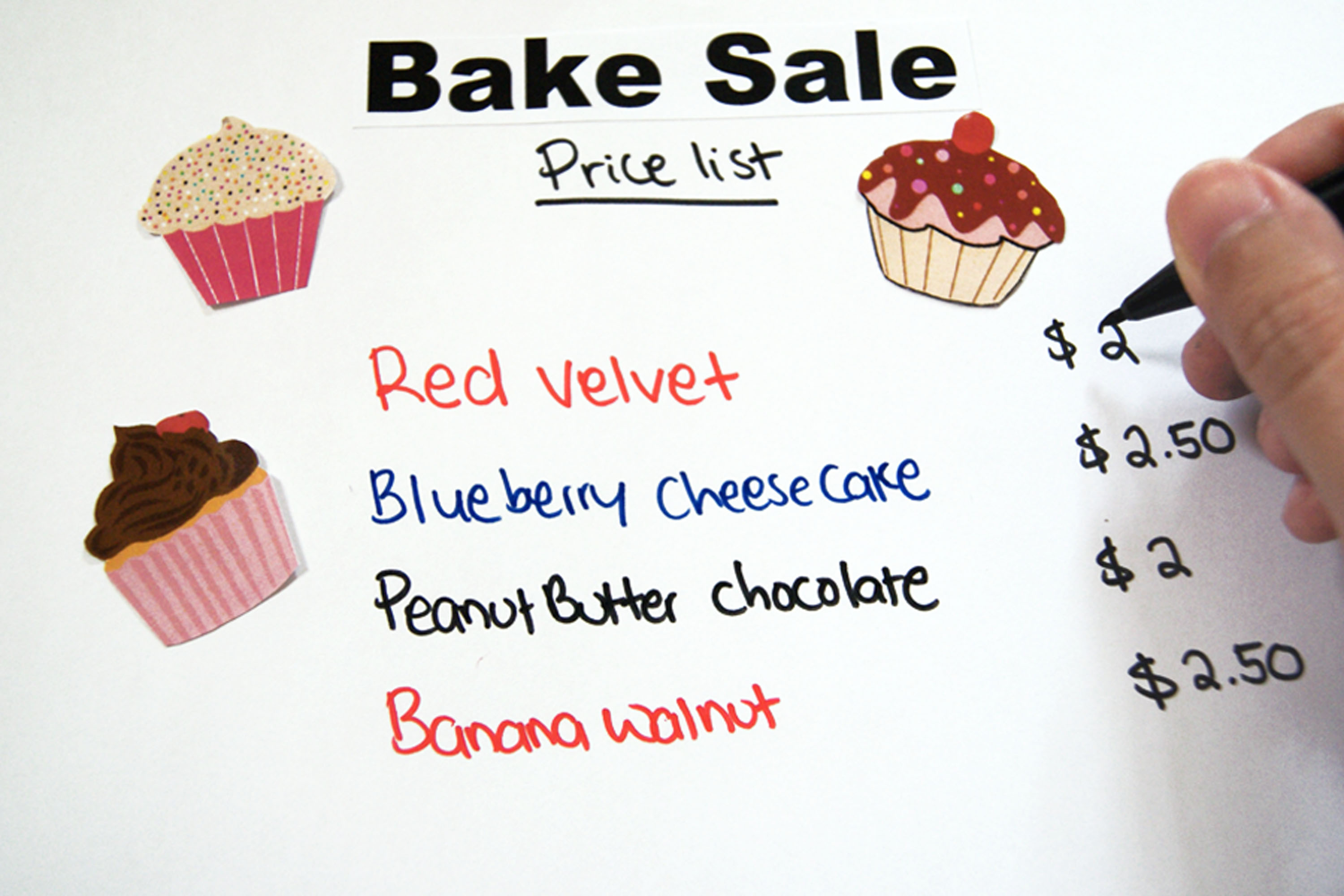 Bake Sale Sign Ideas  Our Everyday Life. Clinical Mental Health Counseling Graduate Programs. Prescription Pad Template Free. Wrap Around Label Template. Resume Template Free Online. Order Confirmation Email Template. Create Your Own Mickey Mouse Invitations. Free Graduation Invitation Maker. Good Songs To Sing At Graduation