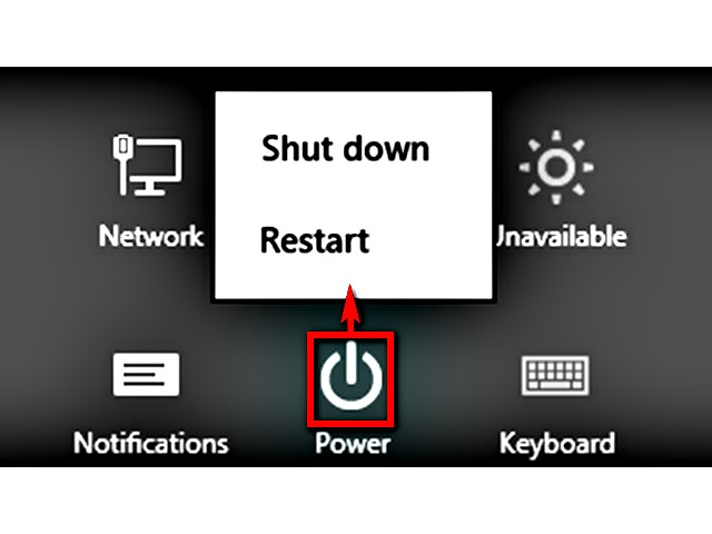 Restart Windows to attempt to clear the I/O device error.