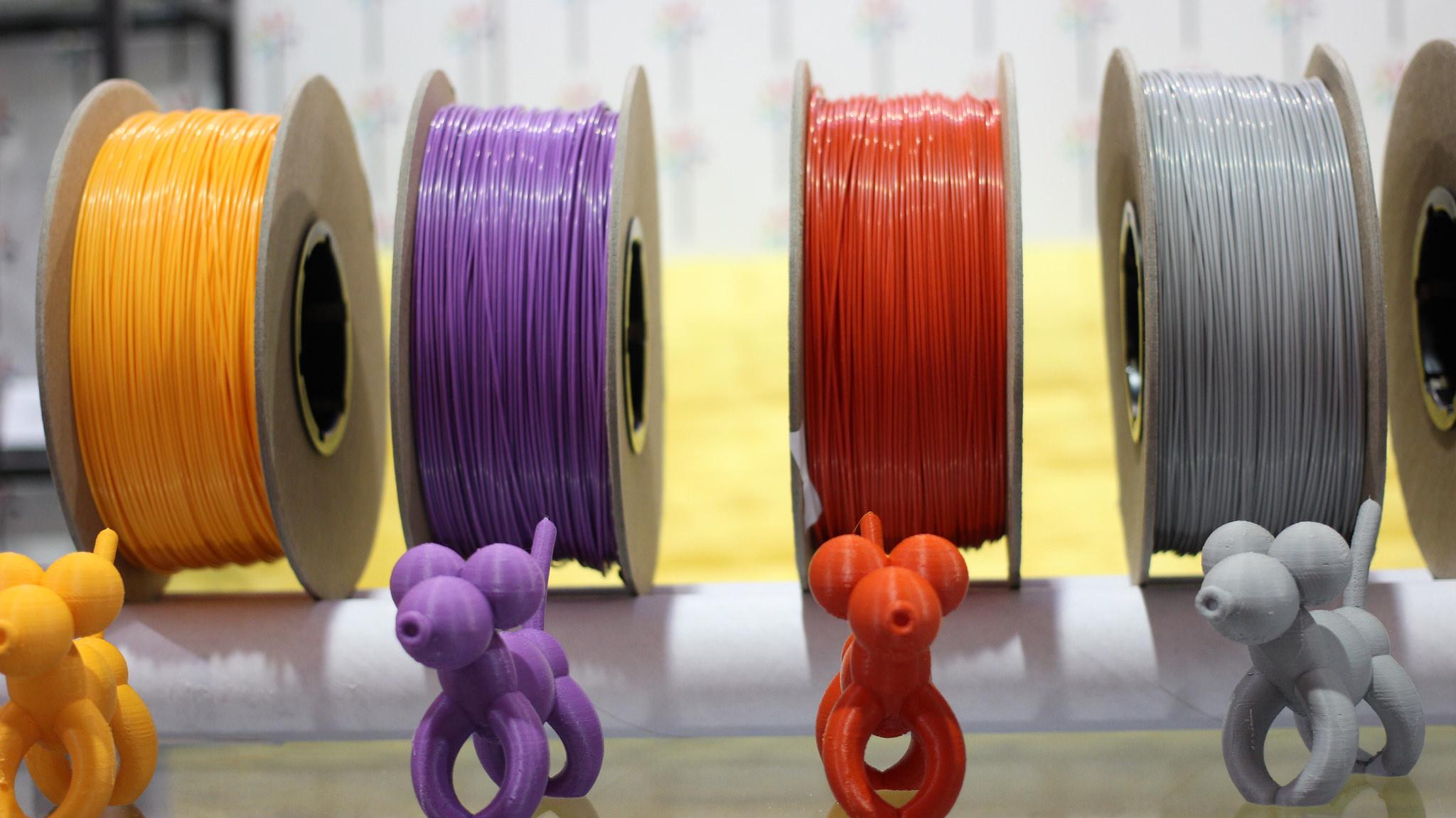 3D printing filaments.