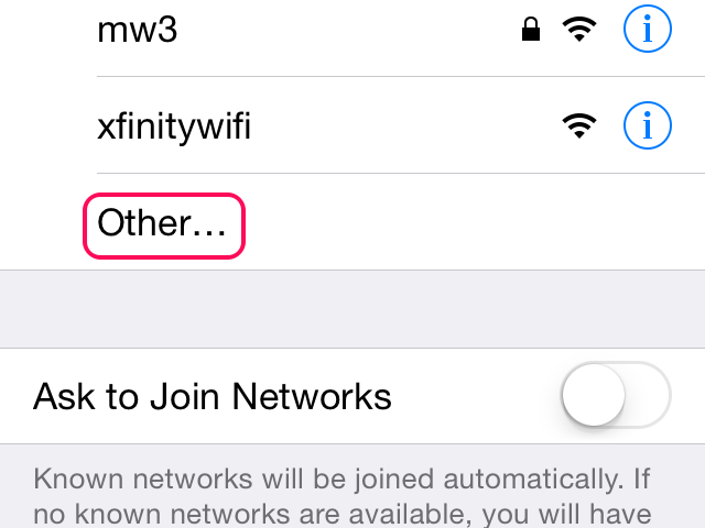 Other network