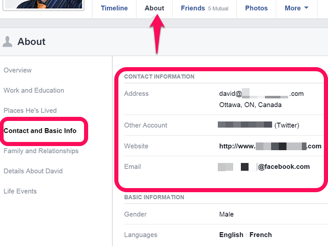 bHow to Find Someone's Email on Facebook
