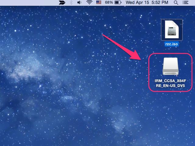 Mac os disk image