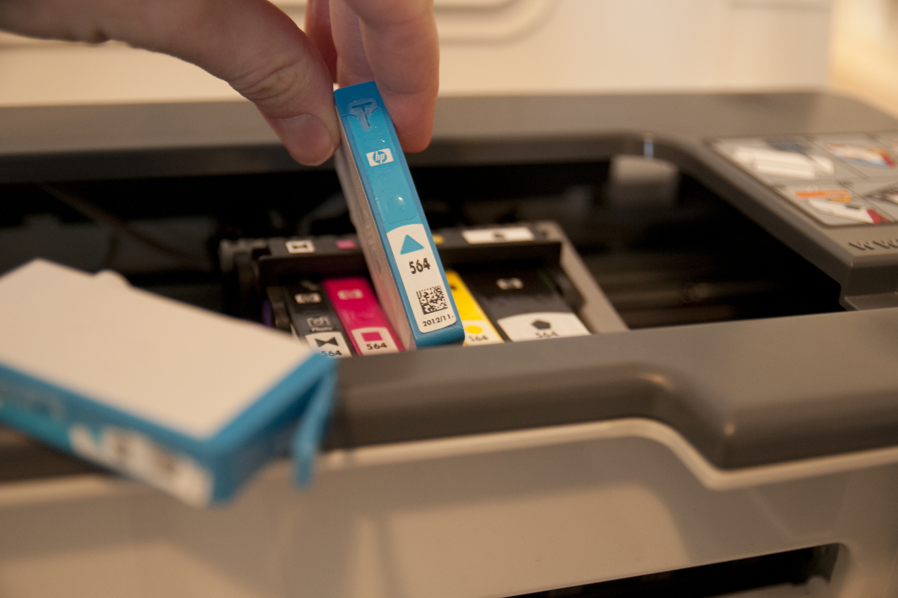how to fix alignment on hp printer