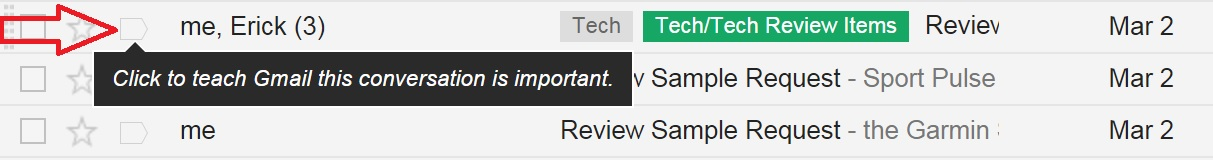 You can train Gmail to identify important emails.