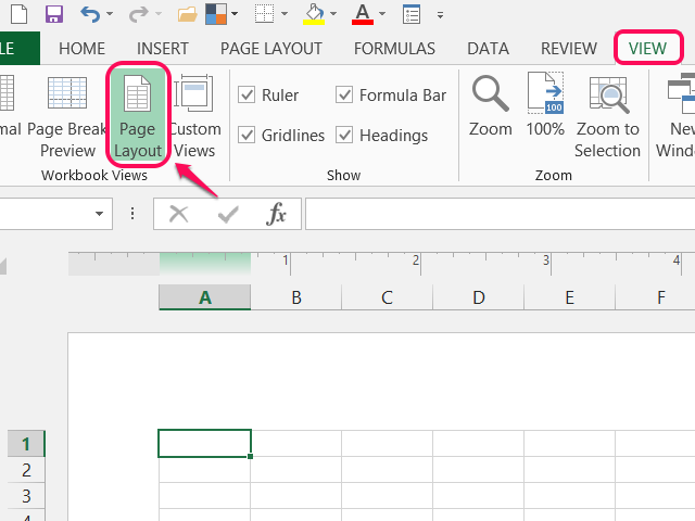 bHow to Add Headers and Footers to Excel Documents
