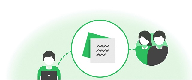 Evernote lets you share notes and notebooks.