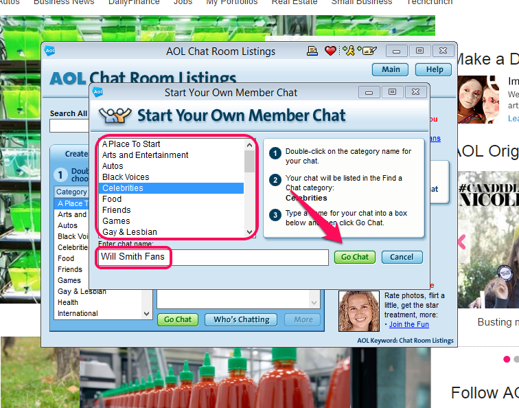 aol adult chat rooms