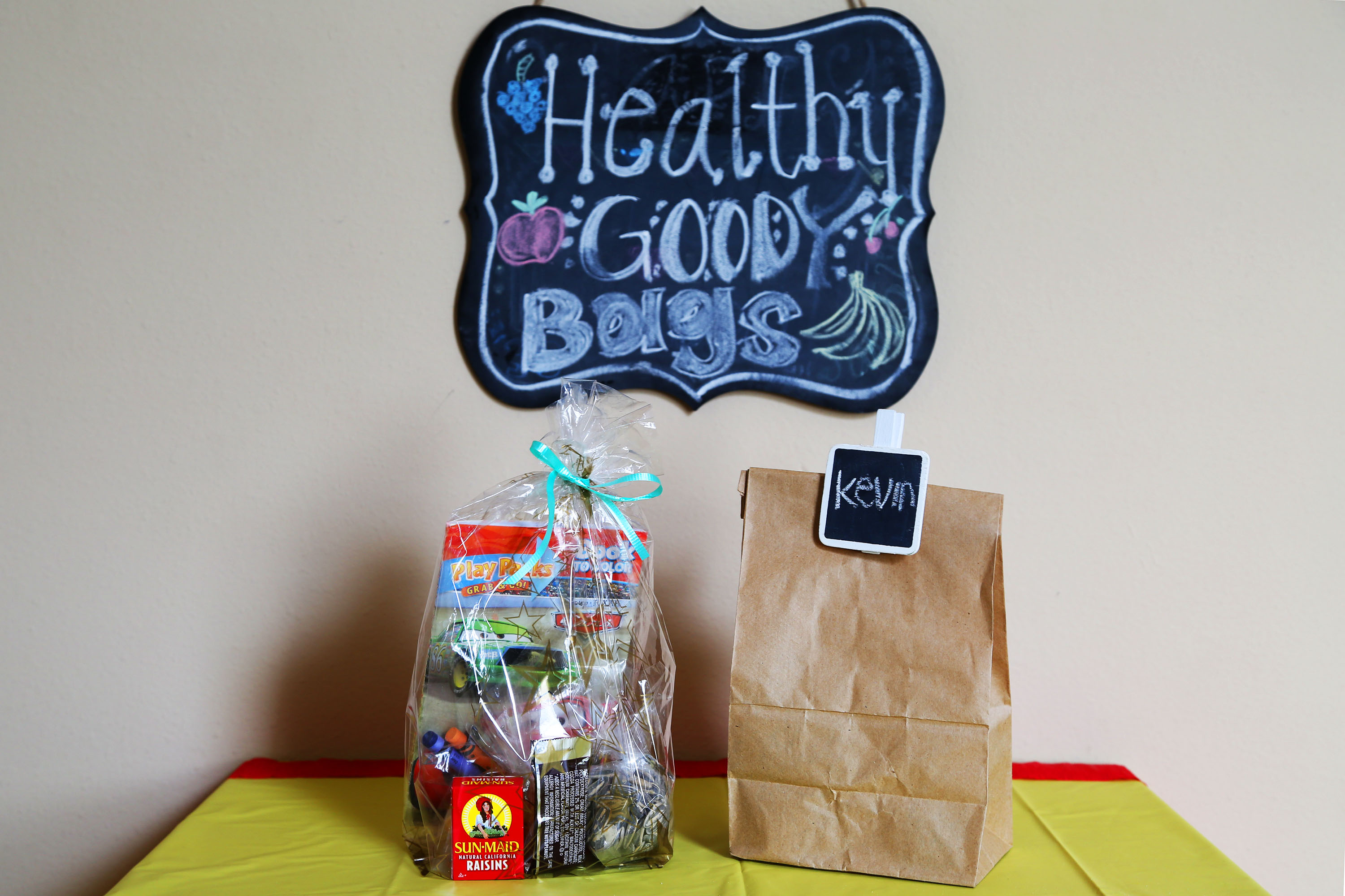 Healthy Goody Bags For Kids Parties