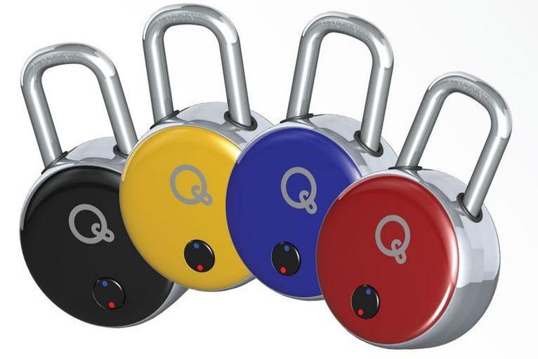 The QuickLock Bluetooth padlock