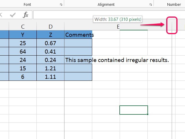 how to make text fit into excel cell