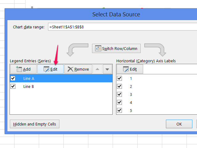 Select Data Source window.