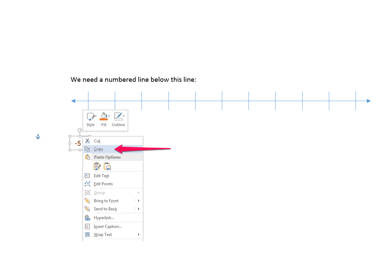 how to create a line in word